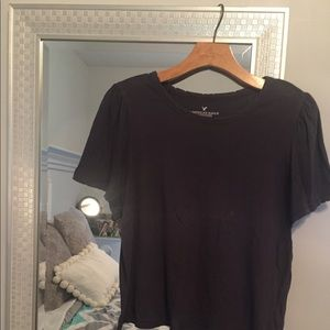 AE Grey Distressed T-shirt